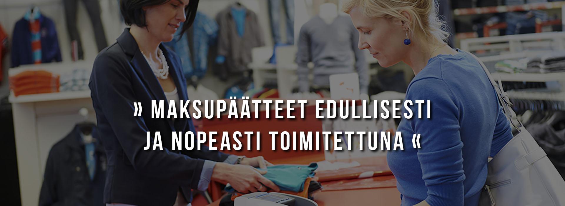 Maksupäätteet edullisesti - Tampereen Kassajärjestelmät Oy